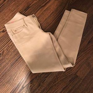 Lilly Pulitzer Resort Tan Khaki Pants Size 2